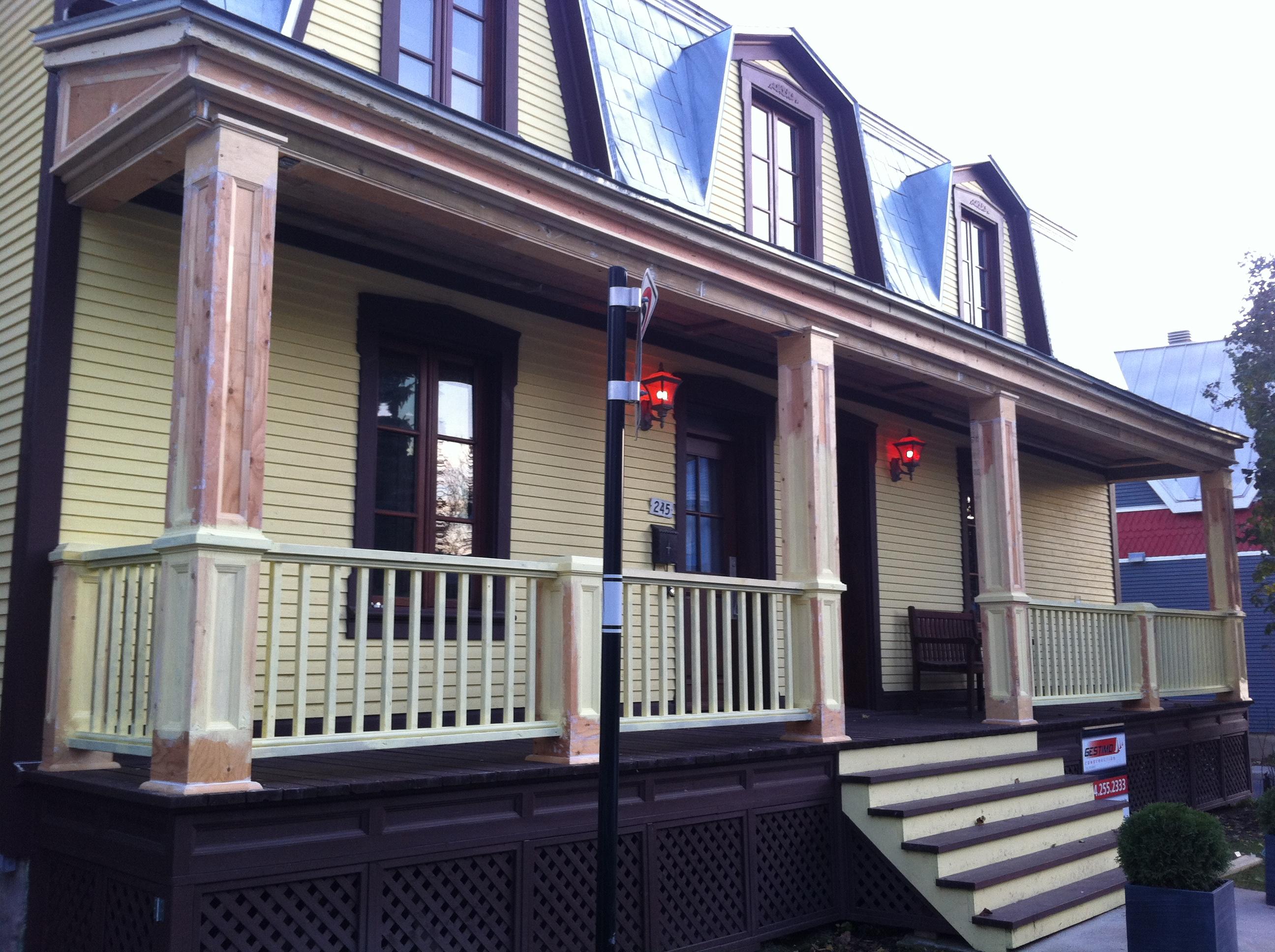 balcon en bois 2 gestimo construction. Black Bedroom Furniture Sets. Home Design Ideas